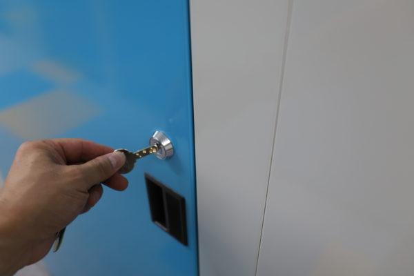トランクルームは複製不可の鍵を採用