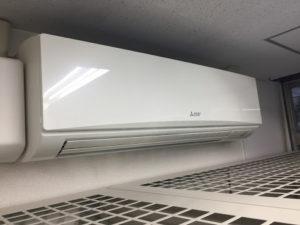 エアコン 空調完備